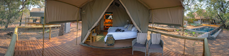 The Tent Pano - Rukiya Camp
