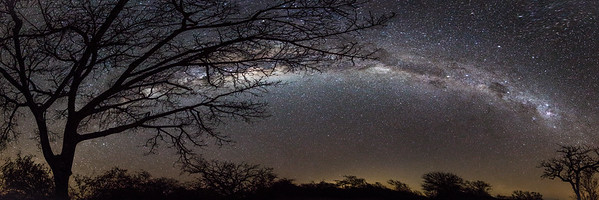 Milky Way Panoramic Over Rukiya