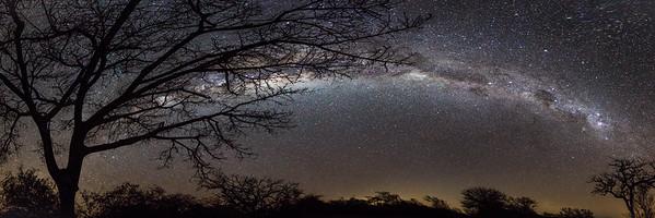 Milky Way Panoramic Over Rukiya