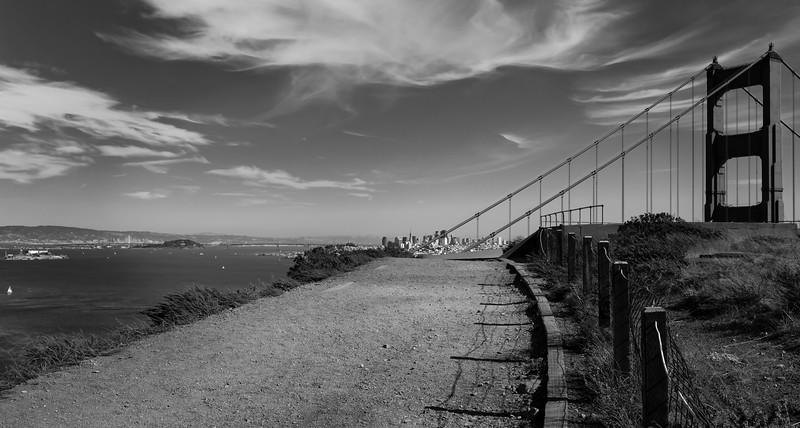 San Francisco, The Golden Gate and Alcatraz