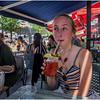 Montreal CA Jenna Sidwalk Cafe July 2017
