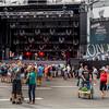 Montreal Canada June 2015 Place Des Arts Jazz Music Fans 7