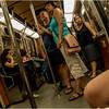 Montreal Canada June 2015 Metro Riders