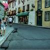 Canada Quebec City Old Town September 2015 Rue Des Jardins Evening 1