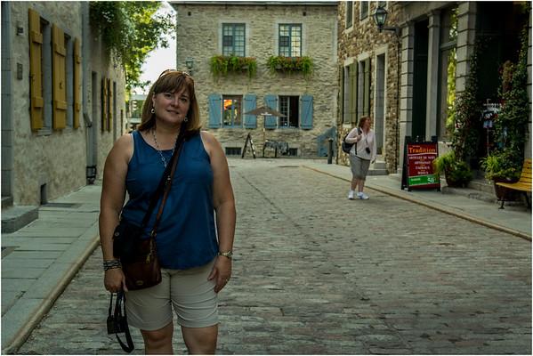 Canada Quebec City Old Town September 2015 Rue des Pains Benites Kim