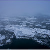 Vercheres Canada St Lawrence River Ice January 2017