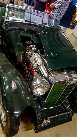 MG TC (same car as previous photo)