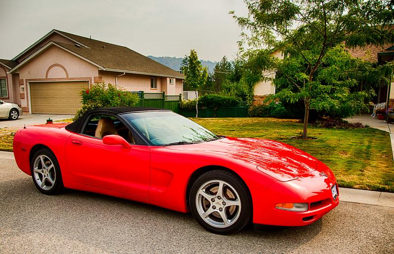 Corvette Coup Convertable - 2000
