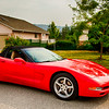 Corvette Coup Convertable - 2000