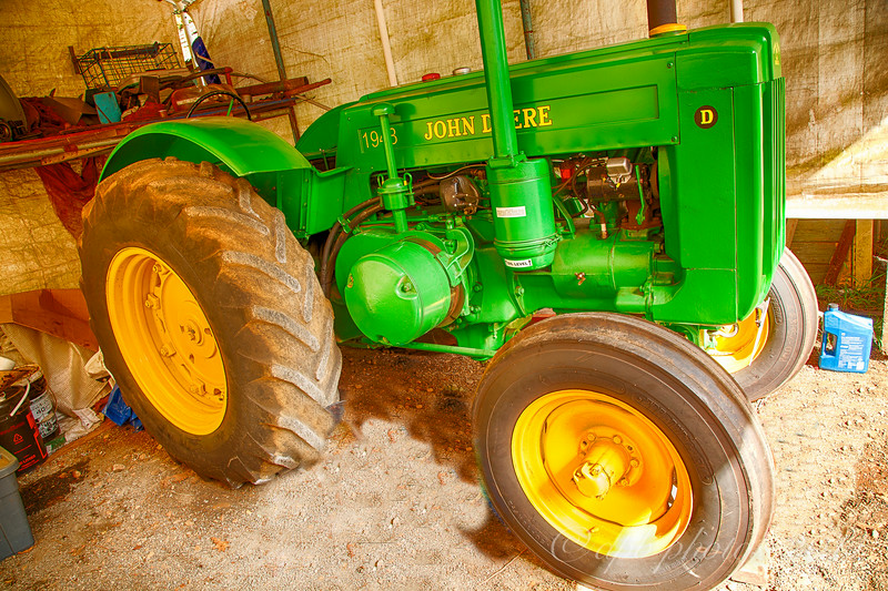 Styled John Deere Model D