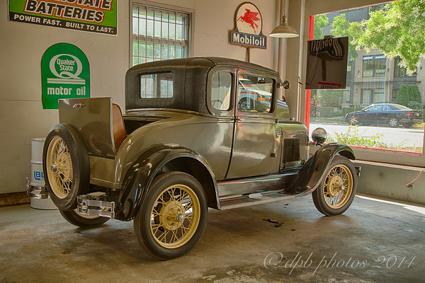 Model A Ford Coupe - 1928 model