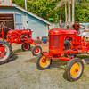Two Small Restored Tractors
