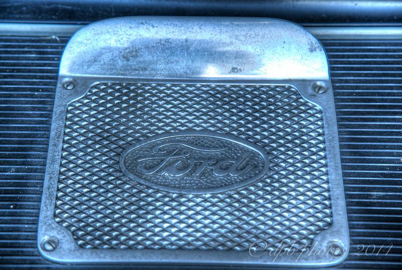 Model A Ford Runningboard Footplate