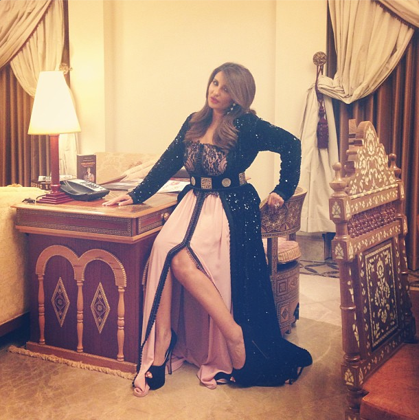Shatha Hassoun wearing Eternelle 2014