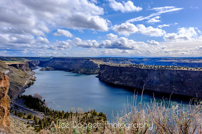 Lake Billy Chinook In Spring