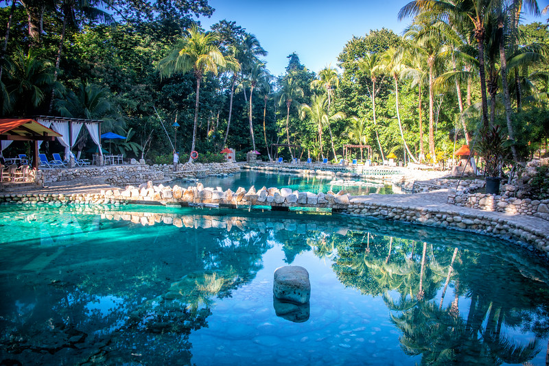 No cenotes in Chiapas, but our resort made up for it
