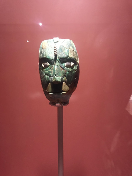 The Red Queen's original death mask.