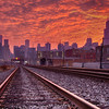 Chicago Sunrise Photography - Chicago Skyline during Sunrise