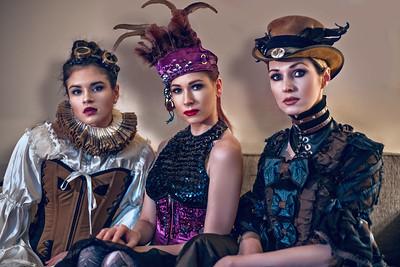 Models: Sonia Weber, Michaela Mašátová & Vilma Biliene
