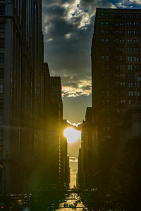Slightly off Chicagohenge