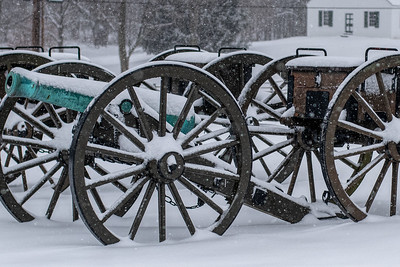 Canon and Ammo Wagon Wheels