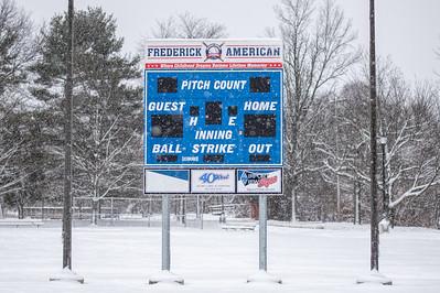 Frederick Little League Score Board