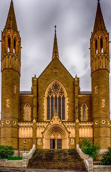 Sacred Heart - front entrance