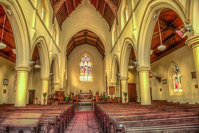 Interior - Holy Trinity Anglican Church, Williamstown
