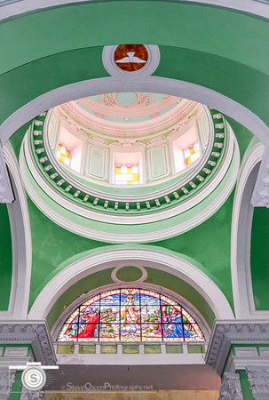 The beautiful alter dome