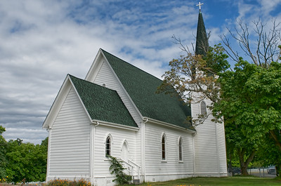 An old church on San Juan Island. Built in 1882.