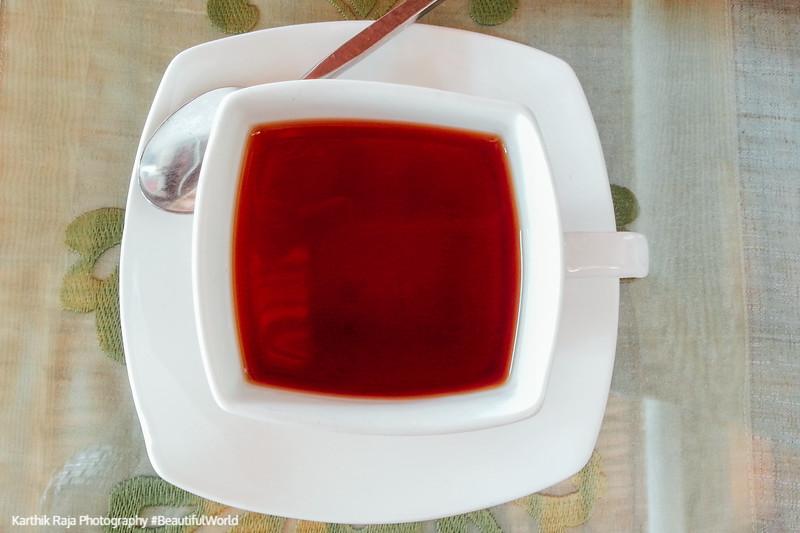 Kerala cuisine - cardamom tea, Fort Kochi, Kerala