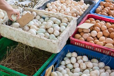 Mekong Delta, Can Duoc market - eggs