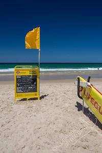 Sunshine Beach - flag