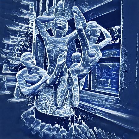 Three Groins in a Fountain