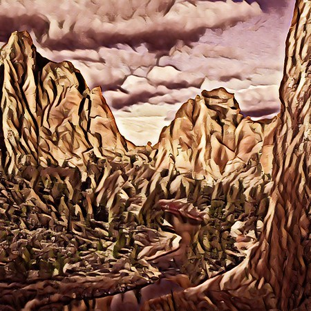 Smith Rock in Chocolate!