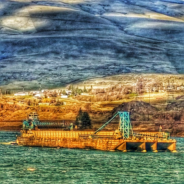 Columbia River - The Dalles 2018/02