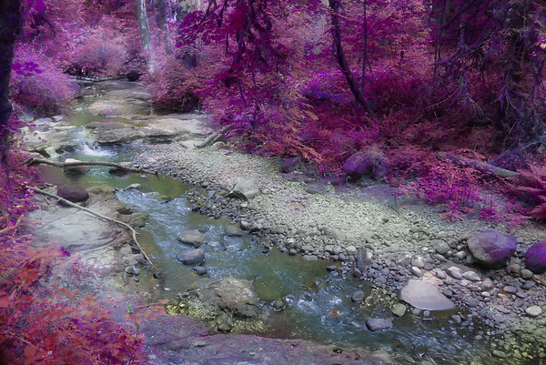 Deep Creek in Pink!