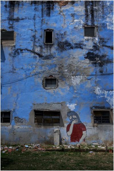 Cuba Havana Centro Havana Facade 4 March 2017