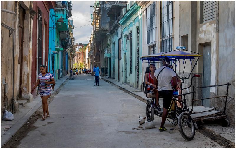 Cuba Havana Centro Havana Street Scene 19 March 2017