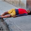 Cuba Havana Centro Havana Man Passed Out 1 March 2017