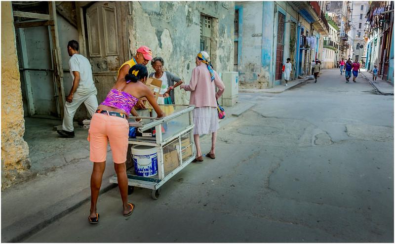 Cuba Havana Centro Havana Street Scene 5 March 2017