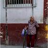 Cuba Havana Centro Havana Woman with Umbrella 2 March 2017