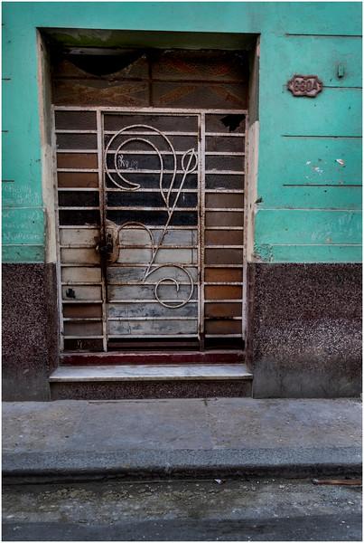 Cuba Havana Centro Havana Doorway 16 March 2017
