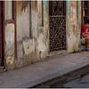 Cuba Havana Centro Havana Sidewalk Scene 2 March 2017