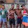Cuba Havana Centro Havana Four Boys March 2017