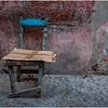 Cuba Havana Centro Havana Chair with Cardboard March 2017
