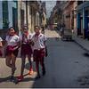 Cuba Havana Centro Havana Schoolkids 1 March 2017