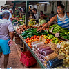 Cuba Havana Centro Havana Street Market Produce Shop 1 March 2017