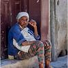 Cuba Havana Centro Havana Woman on a Step March 2017