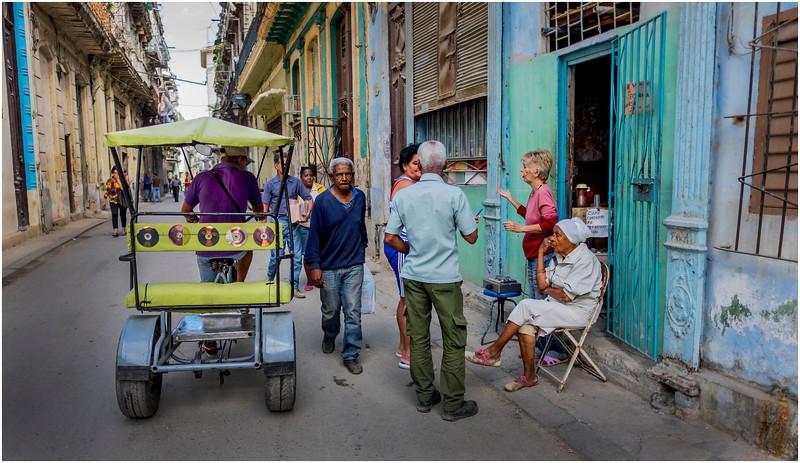 Cuba Havana Centro Havana Street Scene 6  March 2017